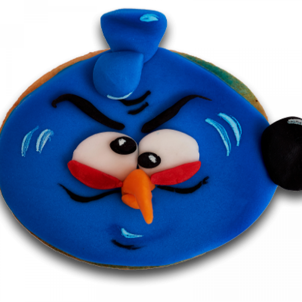 Decorated biscuit - angry birds 2