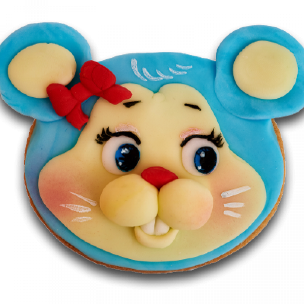 Decorated biscuit - Mouse