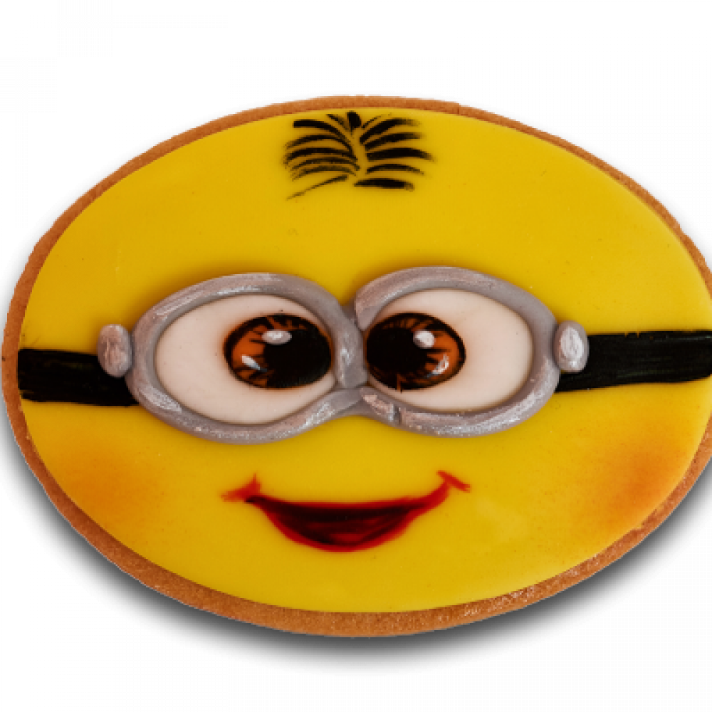 Decorated biscuit - Minion