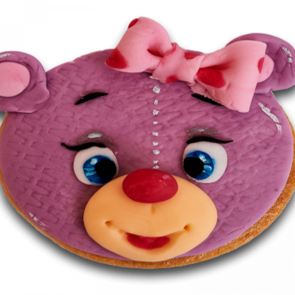 Decorated biscuit